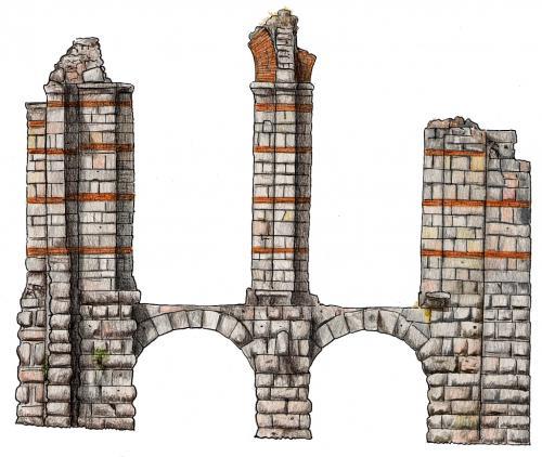 Resultado de imagen de Acueducto de San Lázaro, Mérida