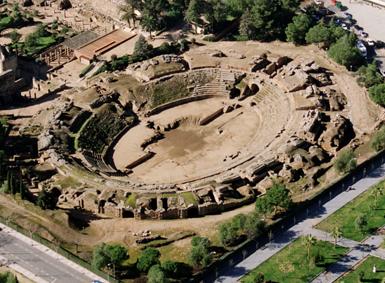 Resultado de imagen de anfiteatro romano de merida